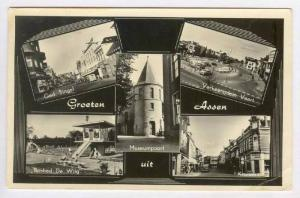 RP, 5 Views, Groeten Uit Assen (Drente), Netherlands, 1920-1940s