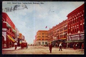 Second Street,Looking South,Muskogee,OK BIN