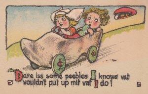 Dutch kids , wooden shoe automobile , 00-10s ; #2