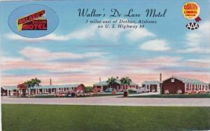 Alabama Dothan Walker's De Luxe Motel