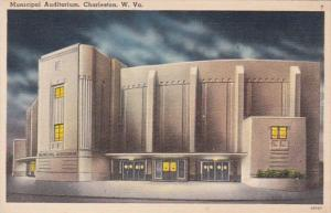 West Virginia Charleston Municipal Auditorium