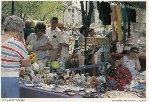 WINNIPEG , Manitoba, 50-60s; Old Market Square