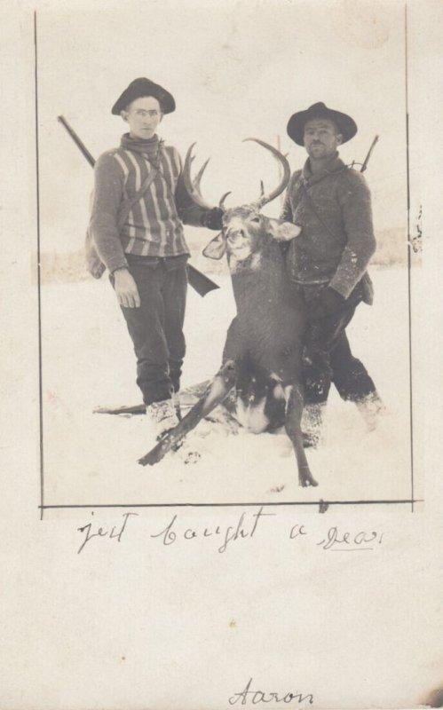 RP: Deer Hunters in winter , Vermont , 00-10s