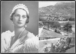 Switzerland Her Majesty Astrid, Queen of the Beglians, Panoramic view