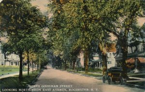North Goodman Street from East Avenue - Rochester NY, New York - pm 1912 - DB