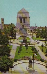 University Park And War Memorial Building Indianapolis Indiana