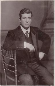 Harry Tate Antique Photo Postcard