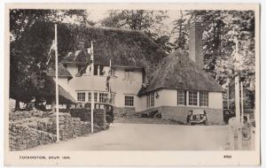 Devon; Cockington, Drum Inn RP PPC By Photochrom Unposted, W Morris 8 Series E