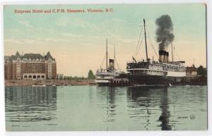 C.P.R. Steamers, Victoria BC