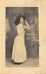 Telephone / Communication Post Card Nothing Doing Postal Used Unknown