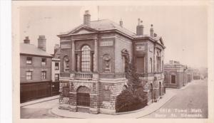 Scotland Suffolk Bury St Edmunds Town Hall Real Photo