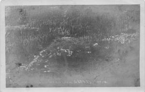 Darrington Washington Aerial View~Street~Houses~Forest~1907-10 Mirmont RPPC