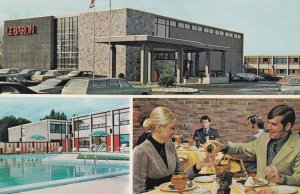 TROIS RIVIERES, Quebec, Canada, 1950-1960's; 3-Views Of Hotellerie Le Baron, ...