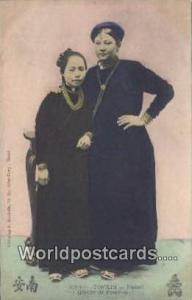 Vietnam, Viet Nam,  Nhân Vật Tonkin Hanoy, Groupe de Femmes