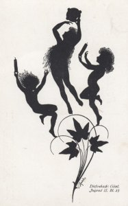 DIEFENBACH : Fantasy Silhouette , 00-10s ; Jugend II Bl. 35