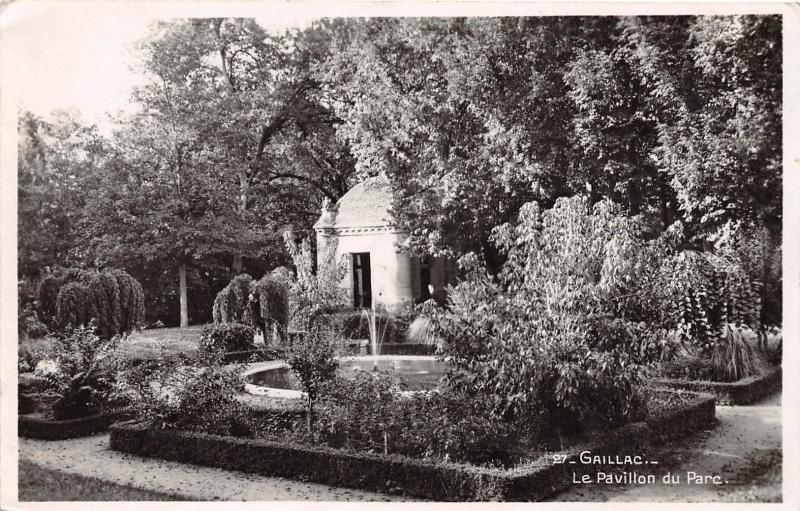 GAILLAC TARN FRANCE LE PAVILLON DU PARC PHOTO POSTCARD