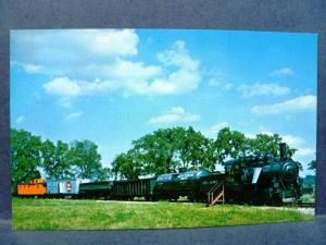 Postcard WI Green Bay National Railroad Museum Sumter & Choctaw Railroad