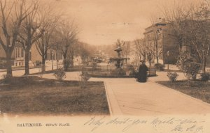 BALTIMORE , Maryland , 1901-07 ; Eutaw Place ; TUCK