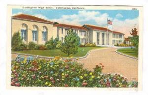 Burlingame High School, California, 10-20s