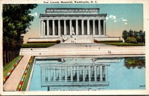 Washington D C The New Lincoln Memorial