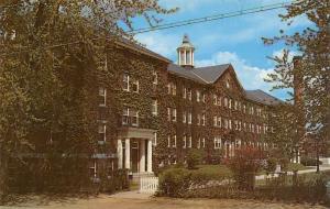 Keene New Hampshire~Keene Teacher's College~Huntress Hall~1960s Postcard