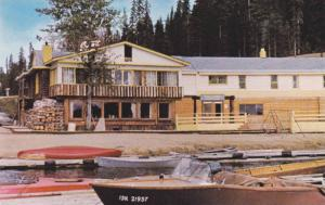 Summit Lodge, Summit Lake on the Hart Highway, Prince George,  B.C.,  Canada,...