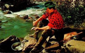 Fishing Preparing A Feast