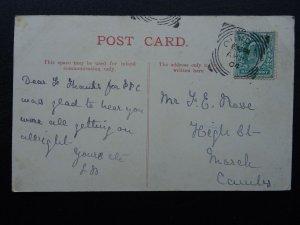 Northamptonshire APETHORPE HALL c1904 Postcard by Markham's Oundle Series