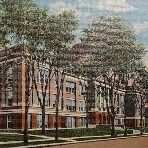 Postcard Central High School Battle Creek Michigan Unposted 120