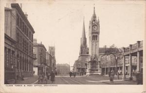 Clock Tower & Post Office, GRAVESEND (Kent), England, UK, 1924