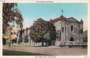 California San Gabriel Mission
