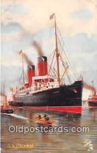 SS Lucania, Tuck's Postcard  Ship Postcard Post Card Postcard Post Card SS Lu...