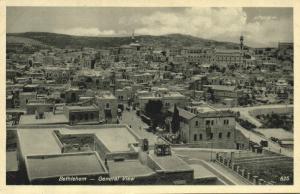 israel palestine, BETHLEHEM, General View (1930s)