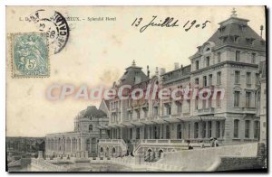 Old Postcard Wimereux Splendid Hotel
