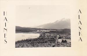 Alaska Haines Panorama Real Photo