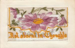 Embroidered Flowers , 00-10s; Insert from France, Not Absent in Thoughts