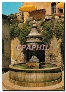 Old Postcard French Riviera Saint Paul de Vence La Vieille Fontaine