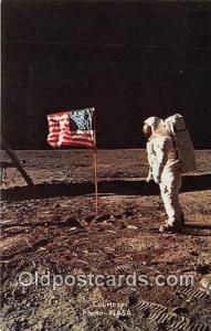 Space Postcard Apollo 11 Eva Man on the Moon, Astronaut Aldrin