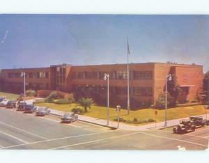 Damaged Back Pre-1980 CITY HALL Fresno California CA E5275
