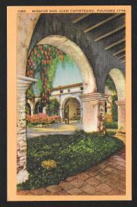Archway San Juan Capistrano California Unused c1930s