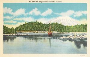 Postcard Mt. Edgecomb Near Sitka Alaska