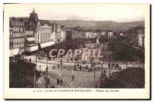 Old Postcard Clermont Ferrand Place de Jaude
