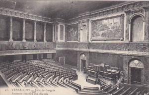 France Versailles Le Chateau Salle du Congres 1913
