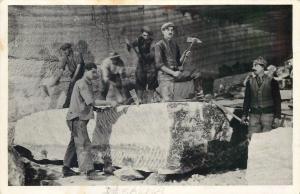 Romania Ocna Dejului Desakna Cluj Transylvania salt mine interior 1940s