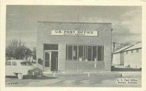 Autos US Post Office Benson Arizona Dexter Photo Shop 1951 Postcard 9744