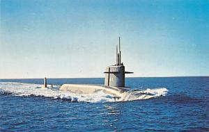 Submarines Post Card Old Vintage Antique Postcard USS Thomas A Edison SSBN610...