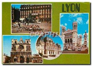 Postcard Modern Lyon (Rhone)