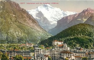 Europe Switzerland Postcard 4166m Underlaun peak
