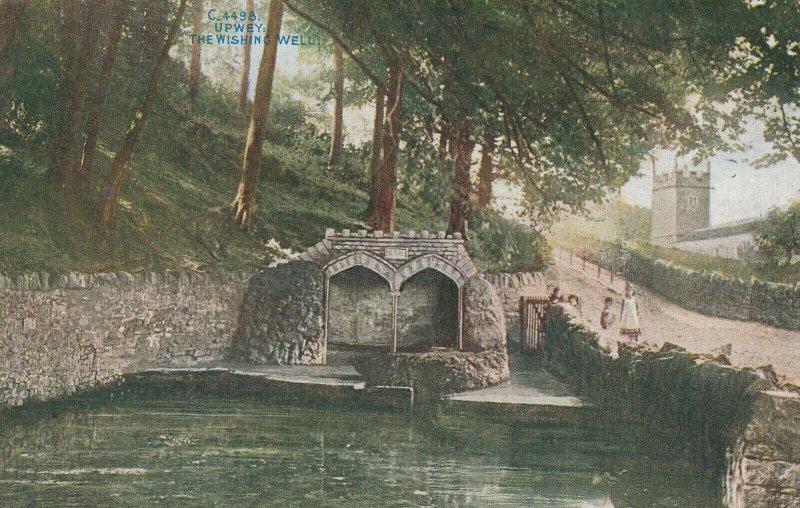 UPWEY, England, 1913 ; The Wishing Well
