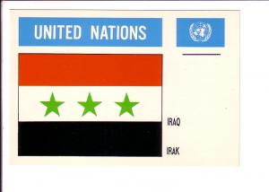Iraq, Flag, United Nations,